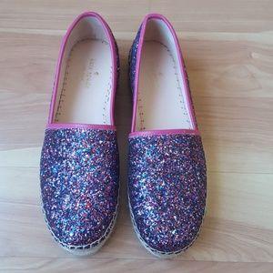 Kate Spade Linds Too Glitter Espadrilles
